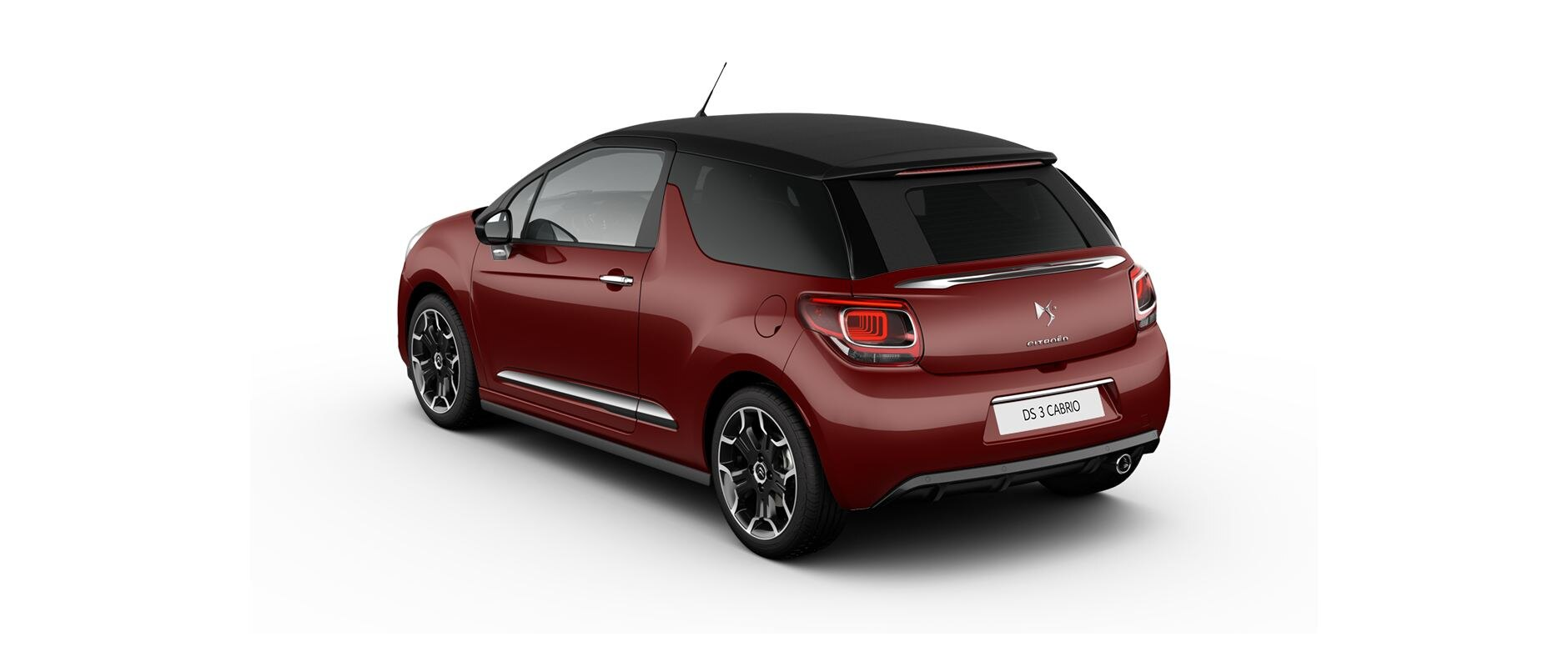 DS 3 Cabrio - Rouge Rubi